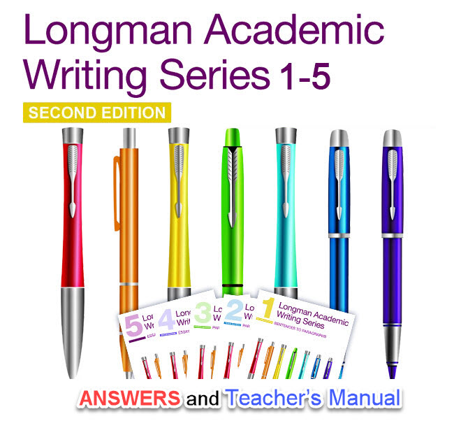 فایل Answer Key and Teachers Manual of Longman Academic Writing Series