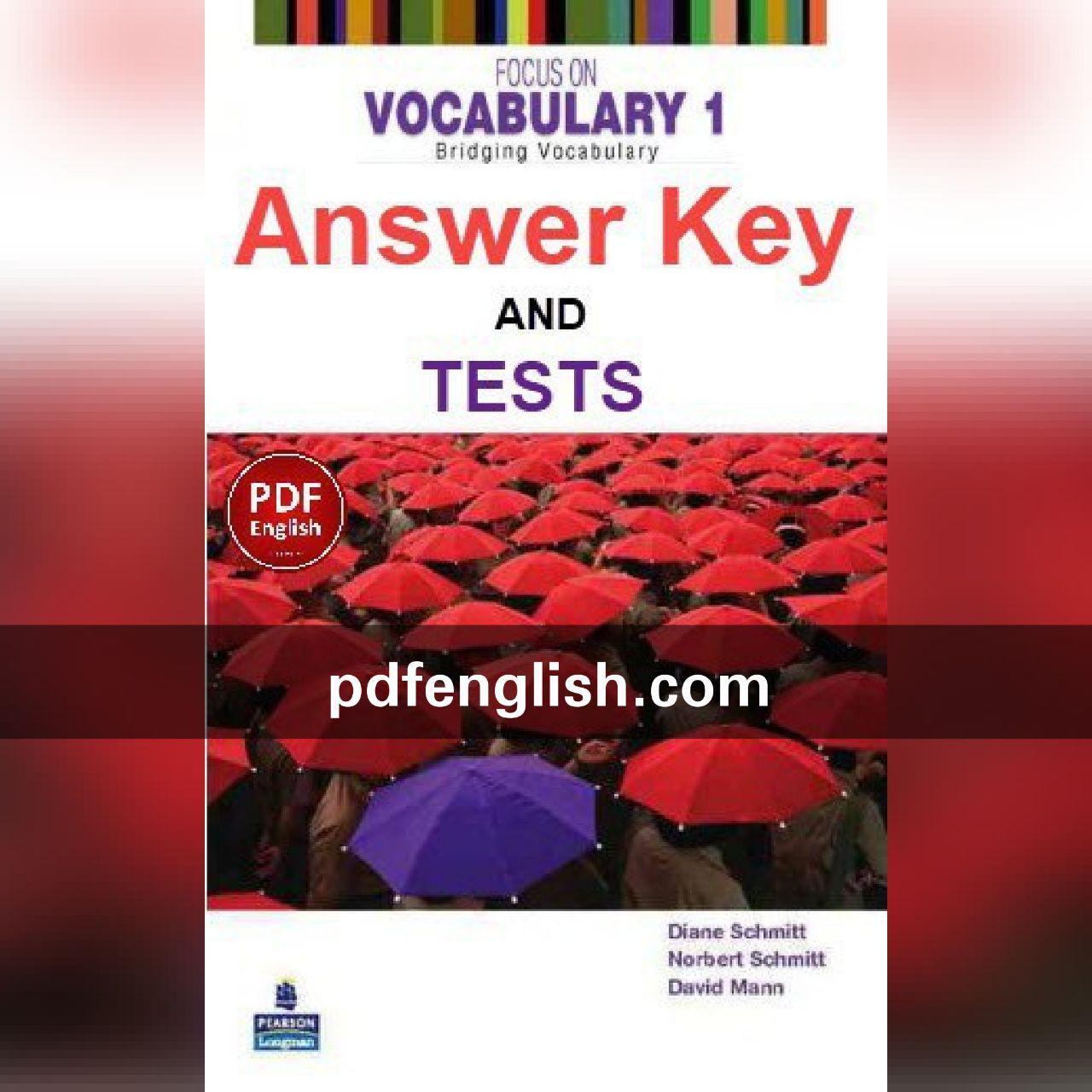 پاسخ کتاب Focus on Vocabulary 1
