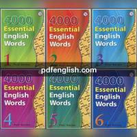 کتاب 4000 Essential English Words