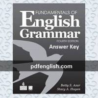 دانلود پاسخ Fundamentals of English Grammar