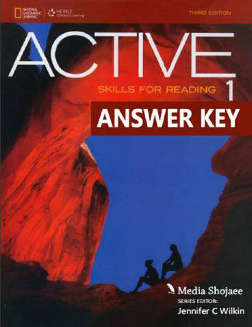 پاسخ کتاب اول Active Skills for Reading